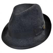 Stretch Wool Felt Fedora Hat