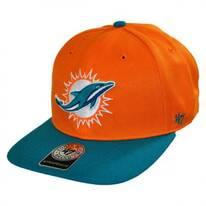 Miami Dolphins NFL Sure Shot Strapback Baseball Cap