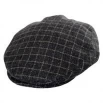 Plaid Wool Blend Earflap Ivy Cap