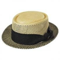 Zen Panama Straw Pork Pie Hat