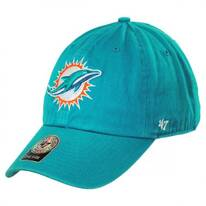 Miami Dolphins NFL Clean Up Strapback Baseball Cap