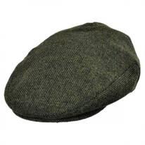 Hooligan Chevron Tweed Wool Blend Ivy Cap