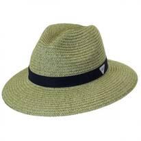 PFG Bonehead Toyo Straw Safari Fedora Hat