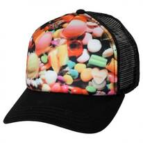 Candyland Trucker Snapback Baseball Cap