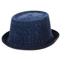 Denim Mowbray Pork Pie Hat