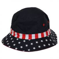 Kid's Stars and Stripes Bucket Hat