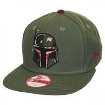 Star Wars Boba Fett Sidecrest 9Fifty Snapback Baseball Cap