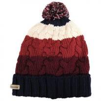 Carson Pass Pom Knit Acrylic Beanie Hat