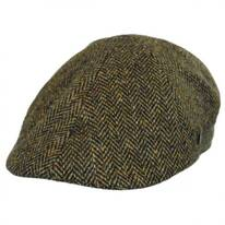 Donegal Tweed Herringbone Duckbill Ivy Cap