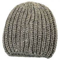 Sequin Knit Beanie Hat