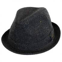 Rebel Wool Blend Trilby Fedora Hat