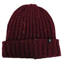 Flecked Cuff Acrylic Beanie Hat