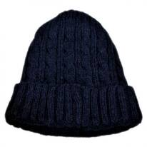 Kids' Cable Knit Acrylic Beanie Hat