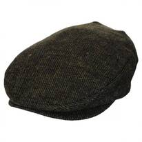 Barrel Moss Tweed Wool Blend Ivy Cap