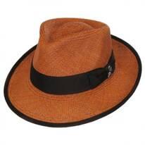 Bhutan Panama Straw Fedora Hat