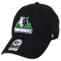 Minnesota Timberwolves NBA Clean Up Strapback Baseball Cap