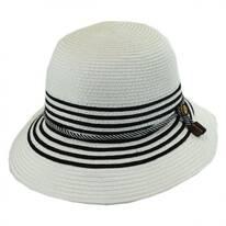 Rope Band Toyo Straw Cloche Hat