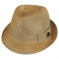 Baseline Straw Trilby Fedora Hat