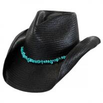 Tulum Straw Western Hat