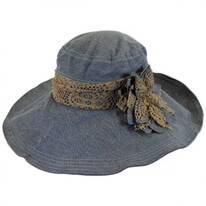 Lace Flower Fabric Sun Hat