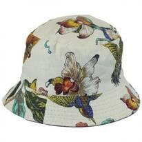 Hummingbirds Cotton Bucket Hat