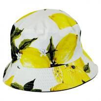 Lemons Cotton Bucket Hat