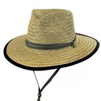 Straw Outback Lifeguard Hat