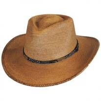 Freemont Palm Straw Outback Western Hat