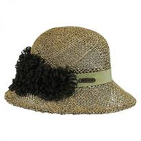 Seagrass Straw Cloche Hat