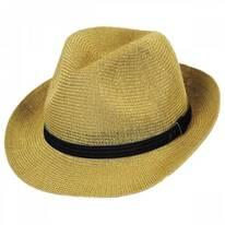 Elliot Straw Fedora Hat