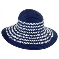 Corsica Ribbon and Toyo Straw Roller Hat
