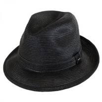 Tate Braided Straw Fedora Hat