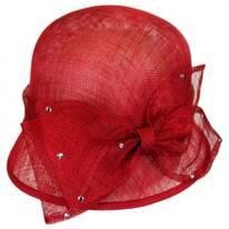 Estrella Straw Cloche Hat