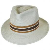 Whittaker Toyo Straw Fedora Hat