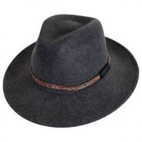 Rhode Wool LiteFelt Fedora Hat