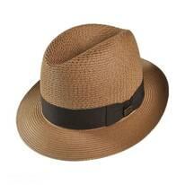 Madison Milan Straw Fedora Hat