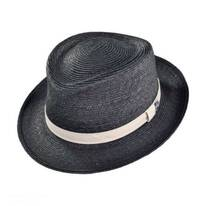 George Straw Fedora Hat