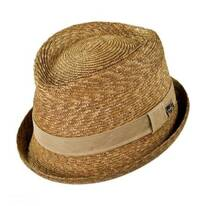 Johnny Straw Fedora Hat
