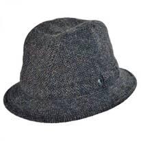 Windowpane Wool Trilby Fedora Hat