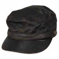 Weathered Cotton Cadet Cap
