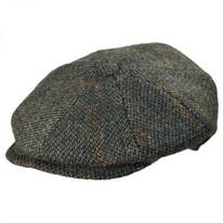 Harris Tweed Wool Newsboy Cap
