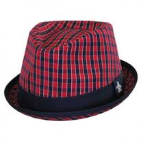 Mini Cheque Fedora Hat