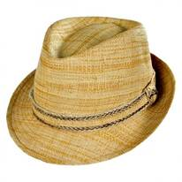 Matte Raffia Fedora Hat