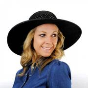 Beach Side Toyo Straw Sun Hat