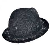 Tribal Toyo Straw Player Fedora Hat