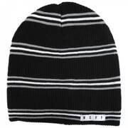 Daily Stripe Knit Beanie Hat