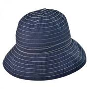 Roller Ribbon Cotton Blend Sun Hat