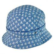 Skully Cotton Bucket Hat