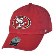 San Francisco 49ers NFL Clean Up Strapback Baseball Cap Dad Hat