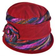 Fleece Cloche Hat